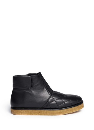 Main View - Click To Enlarge - Stella McCartney - 'Brompton' quilted ankle boots