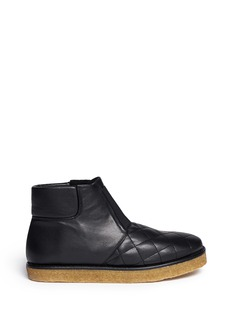 STELLA MCCARTNEY'Brompton' quilted ankle boots