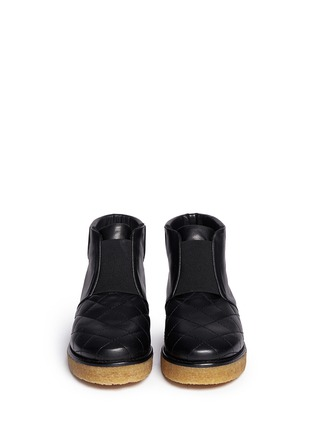 Figure View - Click To Enlarge - Stella McCartney - 'Brompton' quilted ankle boots