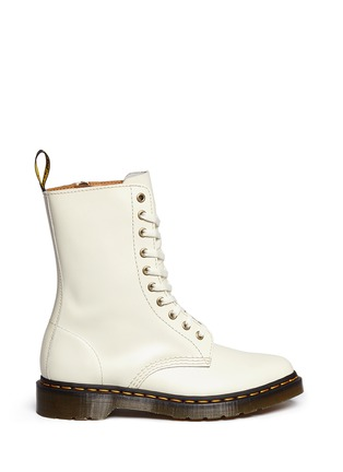Main View - Click To Enlarge - Dr. Martens - 'Alix' matte leather boots