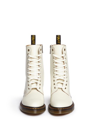 Figure View - Click To Enlarge - Dr. Martens - 'Alix' matte leather boots