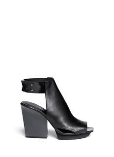 3.1 PHILLIP LIM'Juno' high vamp leather sandals