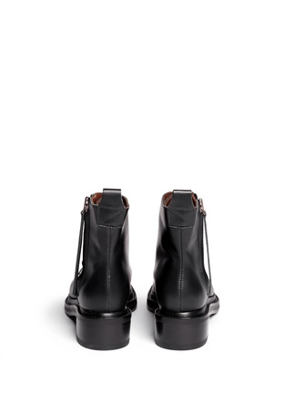 Back View - Click To Enlarge - Acne Studios - 'Linden' leather ankle boots