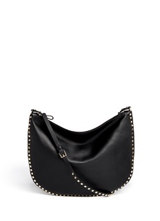 VALENTINO 'Rockstud' leather hobo bag
