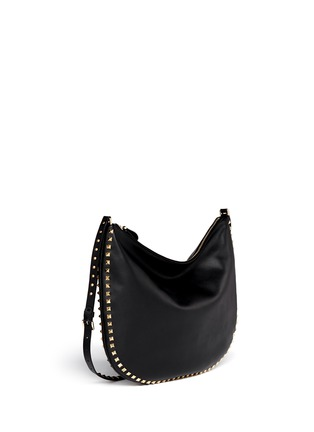 Figure View - Click To Enlarge - Valentino - 'Rockstud' leather hobo bag