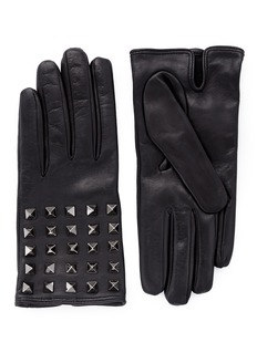 VALENTINO 'Rockstud' leather gloves