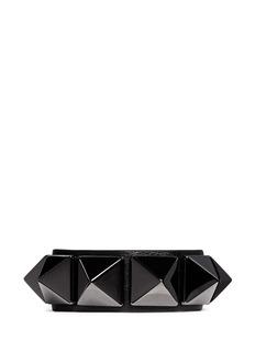 VALENTINO'Rockstud'' macro leather bracelet