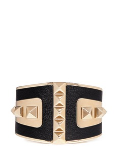 VALENTINO 'Rockstud' leather cuff