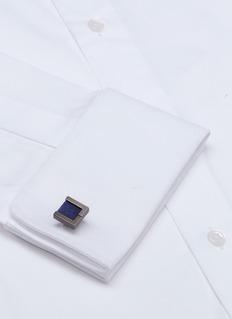 LANVIN 可替换式仿宝石方形袖扣