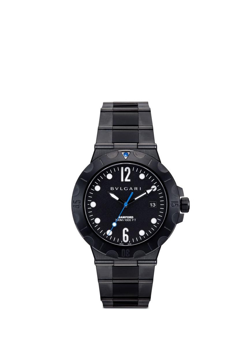 Bulgari Diagono Scuba Pro customised watch by Bamford Watch Department