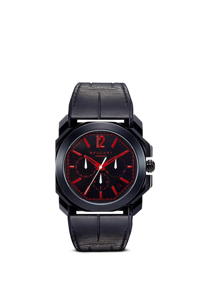 Bulgari Octo Velocissimo customised watch by Bamford Watch Department