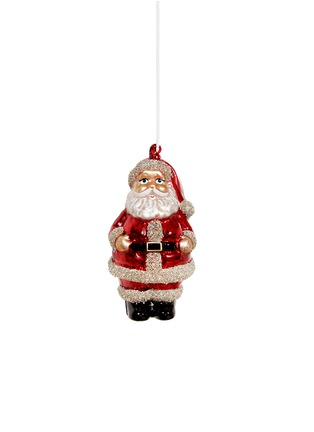 Main View - Click To Enlarge - Shishi As - Glitter Santa Christmas ornament