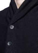 Textured cotton coat