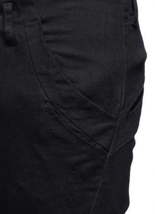 Detail View - Click To Enlarge - The Viridi-anne - Twill slim fit pants