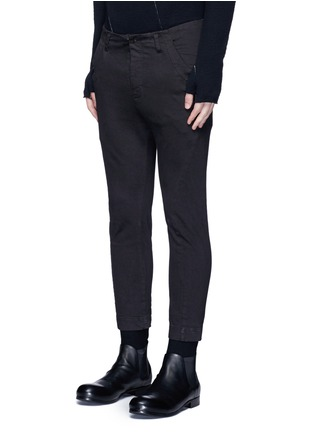 Front View - Click To Enlarge - The Viridi-anne - Twill slim fit pants