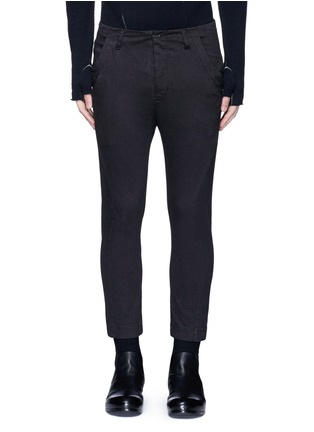 Main View - Click To Enlarge - The Viridi-anne - Twill slim fit pants
