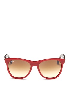 RAY-BAN 'Original Wayfarer' colourblock acetate sunglasses