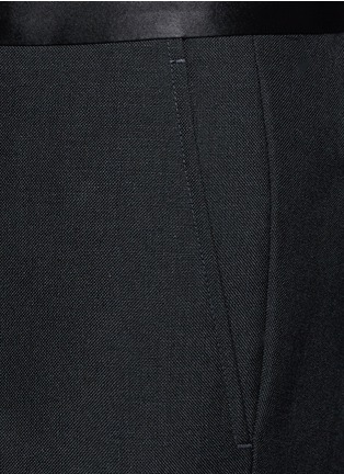 Detail View - Click To Enlarge - Gucci - Wool-Mohair evening pants