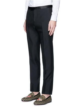 Front View - Click To Enlarge - Gucci - Wool-Mohair evening pants