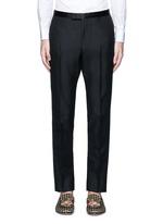 Wool-Mohair evening pants