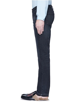 Gucci - Bird embroidery slim fit jeans
