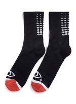 Fade Gradient quarter ankle socks