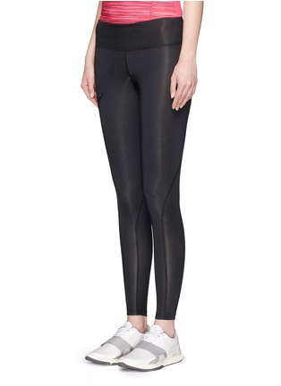 Front View - Click To Enlarge - 2Xu - 'Mid-rise Compression' performance tights