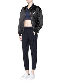 Lndr'Flight' sportsmesh trim wool blend pants