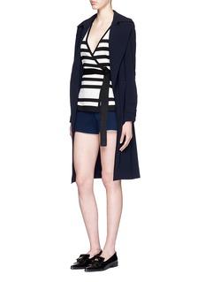 DIANE VON FURSTENBERG'Fausta' cotton blend knit shorts