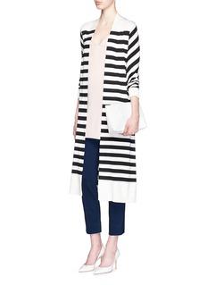 DIANE VON FURSTENBERG'Farrah' cotton blend knit pants