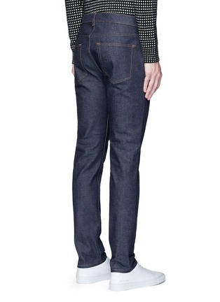 Back View - Click To Enlarge - Acne Studios - 'Ace Str' raw stretch denim skinny jeans
