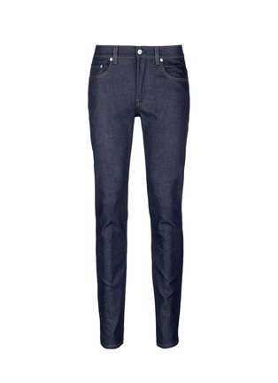 Main View - Click To Enlarge - Acne Studios - 'Ace Str' raw stretch denim skinny jeans