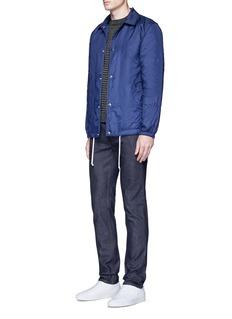 Acne Studios'Ace Str' raw stretch denim skinny jeans