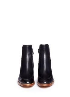 3.1 PHILLIP LIM'Alexa' saddle stitch leather boots