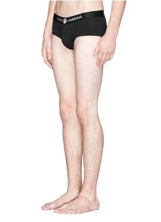 Dolce & Gabbana-'Brando' sport crest cotton briefs