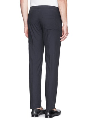 Back View - Click To Enlarge - Dries Van Noten - 'Pacino' grosgrain tuxedo ribbon drawstring pants