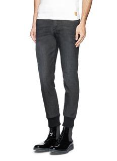 NEIL BARRETTSkinny washed denim jeans