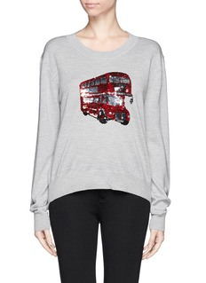MARKUS LUPFER 'London Bus' sequin Joey jumper