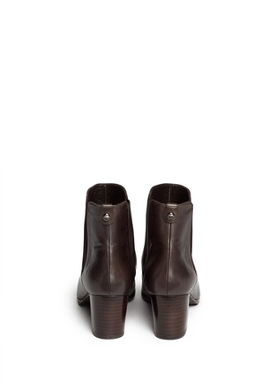 Back View - Click To Enlarge - Stuart Weitzman - 'Apogee Lo' leather Chelsea boots
