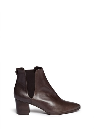 Main View - Click To Enlarge - Stuart Weitzman - 'Apogee Lo' leather Chelsea boots