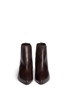 STUART WEITZMAN'Apogee Lo' leather Chelsea boots