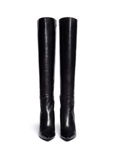STUART WEITZMAN'Demi Voom' elastic back leather boots
