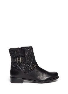 STUART WEITZMAN 'Download' quilted leather boots