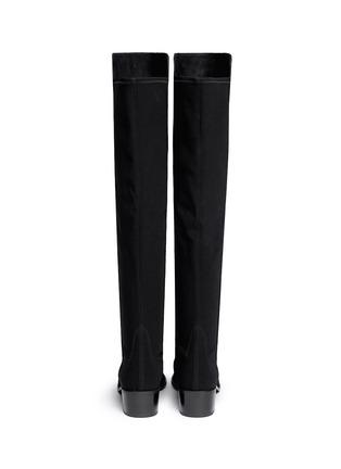 Stuart Weitzman-'Reserve' elastic back suede boots