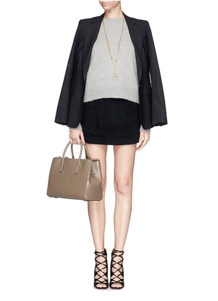 Figure View - Click To Enlarge - Anya Hindmarch - 'Ebury' small soft leather tote