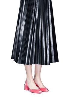 Stella Luna'Indispensable' suede slingback sandals