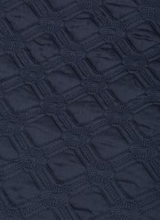 Frette Illusione queen size light quilt – Mineral