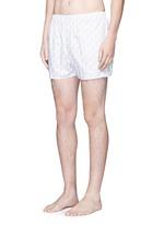 Seasonal nail print boxer shorts