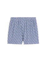 Seasonal leaf print boxer shorts