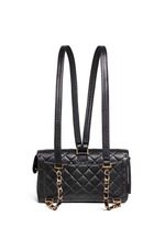 2.55 quilted leather backpack